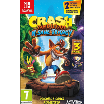 CRASH BANDICOOT N. SANE TRILOGY - NSW