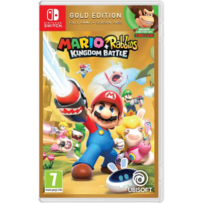 Mario & Rabbids - Kingdom Battle -Gold Edition - NSW